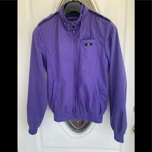 Members Only Style Purple Jacket